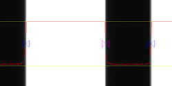Edge movement measurement from a distance