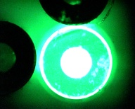 Fluorescence gauging in a test tube